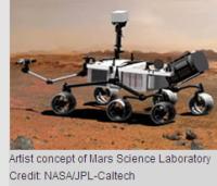 MSL火星探査車