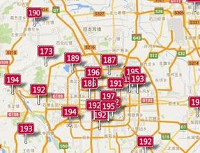 北京のAQI